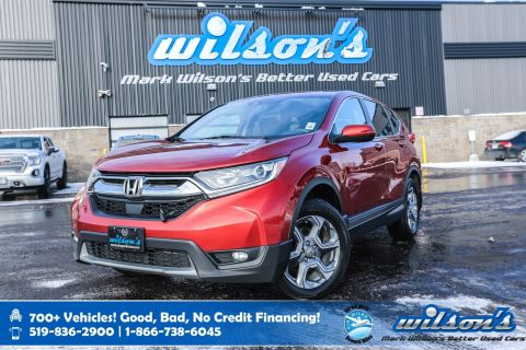 Certified Pre-Owned 2017 Honda CR-V EX AWD, Sunroof, Rear Camera, Heated + Power Seats, Bluetooth, Alloys, Cruise Control and more!