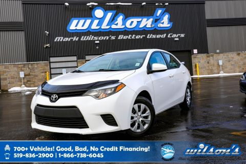 Certified Pre-Owned 2014 Toyota Corolla CE, Bluetooth, Heated Mirrors, Power Package, Air Conditioning and more!