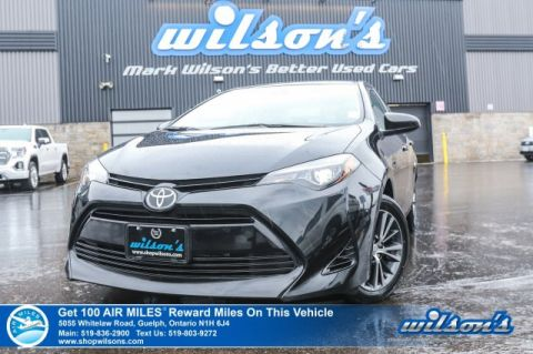 Certified Pre-Owned 2019 Toyota Corolla LE – Sunroof, Rear Camera, Bluetooth, Heated Steering & Seats, Plus Lots More!