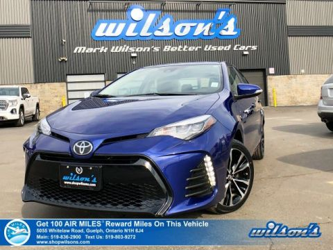 "Certified Pre-Owned 2019 Toyota Corolla SE - Sunroof, Heated Steering + Seats, 17"" Alloys, Rear Camera, Bluetooth, Toyota Safety Sense"
