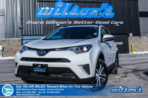 Certified Pre-Owned 2017 Toyota RAV4 LE AWD - Rear Camera, Collision Alert, Heated Seats, Bluetooth, New Tires, and lots more!