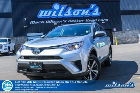 Certified Pre-Owned 2018 Toyota RAV4 LE AWD - Heated Seats, Bluetooth, Rear Camera, Toyota Safety Sense and more!