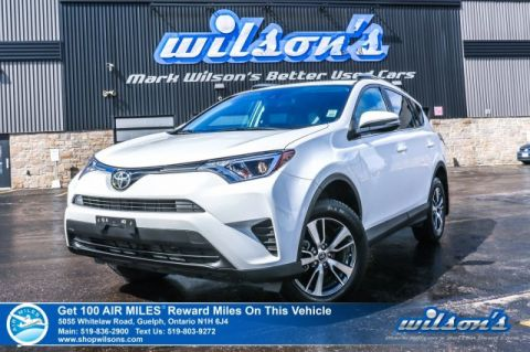 Certified Pre-Owned 2018 Toyota RAV4 LE AWD - Toyota Safety Sense, Bluetooth, Rear Camera, Heated Seats, and more!