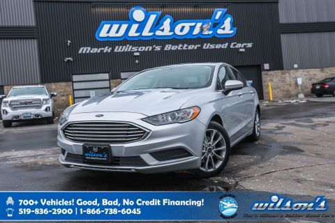 Certified Pre-Owned 2017 Ford Fusion SE, Sunroof, Rear Camera, Power Seats, Sync Voice Command, Alloy Wheels and more!