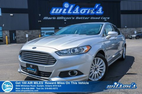 Certified Pre-Owned 2016 Ford Fusion Energi SE Plug-In Hybrid Electric, Leather, Navigation, Sunroof, Heated Seats, Bluetooth