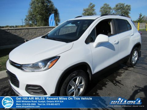 Certified Pre-Owned 2019 Chevrolet Trax LT Used-AWD, Bluetooth, Rear Camera, Alloy Wheels and more!