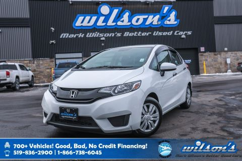Certified Pre-Owned 2015 Honda Fit DX, Bluetooth, Steering Radio Controls, Power Windows + Locks, & More!