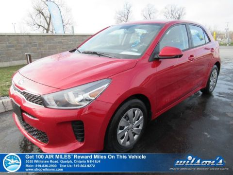 Certified Pre-Owned 2018 Kia Rio LX+ HATCH | HTD SEATS | BLUETOOTH | REAR CAMERA