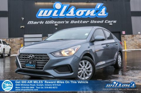 Certified Pre-Owned 2018 Hyundai Accent GL - Rear Camera, Bluetooth, Steering Radio Controls, Heated Seats, Alloys & More!