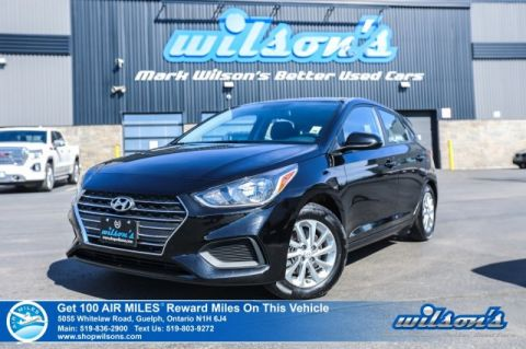 Certified Pre-Owned 2019 Hyundai Accent Preferred- Heated Seats, Apple CarPlay + Android Auto, Bluetooth, Rear Camera, Alloy Wheels and more