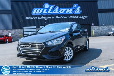 Certified Pre-Owned 2019 Hyundai Accent Preferred Used - Bluetooth, Rear Camera, Heated Seats, Apple CarPlay + Android Auto, and more!