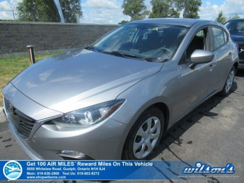 Certified Pre-Owned 2015 Mazda3 GX Hatchback - Bluetooth, Power Package, Steering Controls and more!