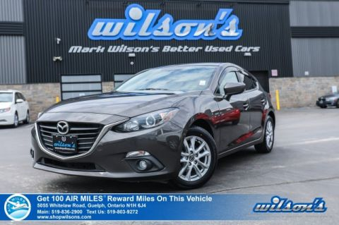 Certified Pre-Owned 2015 Mazda3 GS Sport - NEW TIRES! Navigation, Sunroof, Bluetooth, Rear Camera, Heated Seats, & More!
