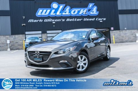 Certified Pre-Owned 2015 Mazda3 GX - Bluetooth, Push Start, Cruise Control, Power Package and more!