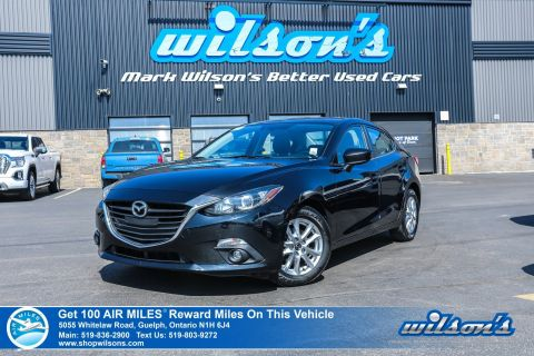 Certified Pre-Owned 2015 Mazda3 GS - 6 Speed with NEW TIRES! Sunroof, Heated Seats, Bluetooth,Cruise Control, Alloys and more!