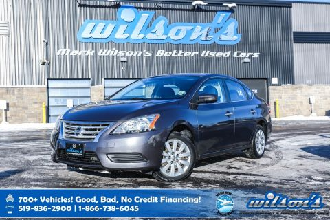 Certified Pre-Owned 2015 Nissan Sentra S, Bluetooth, Cruise Control, Keyless Entry, Air Conditioning, and more!