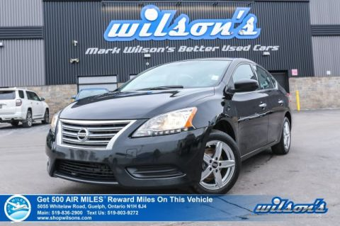 Certified Pre-Owned 2014 Nissan Sentra S - Keyless Entry, Cruise, Alloys, Steering Radio Controls & More!