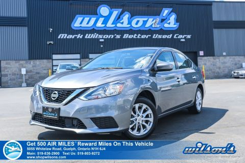Certified Pre-Owned 2019 Nissan Sentra SV Used - Sunroof, Apple CarPlay + Android Auto, Heated Seats, Bluetooth, Rear Camera, and more!