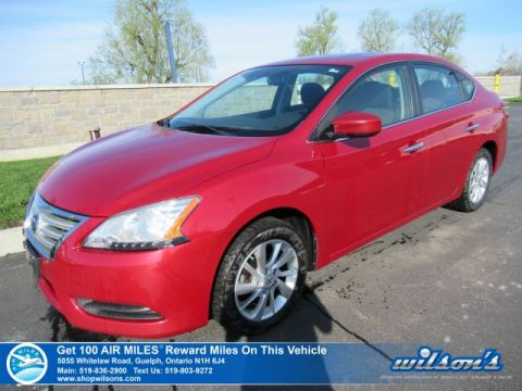 Certified Pre-Owned 2014 Nissan Sentra SV – Sunroof, Navigation, Heated Seats, Rear Camera, Alloys & So Much More!