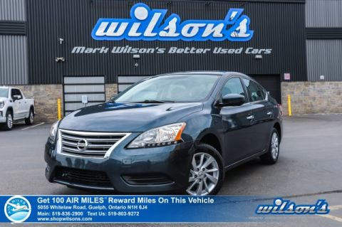 Certified Pre-Owned 2015 Nissan Sentra SV - Heated Seats, Reverse Camera, Bluetooth, Cruise Control, Keyless Entry, Alloys & More!