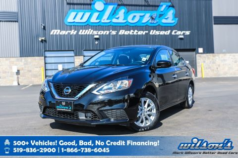 Certified Pre-Owned 2018 Nissan Sentra SV Used, Sunroof, Navigation, Bluetooth, Rear Camera, Dual Zone Climate Control & Much More!
