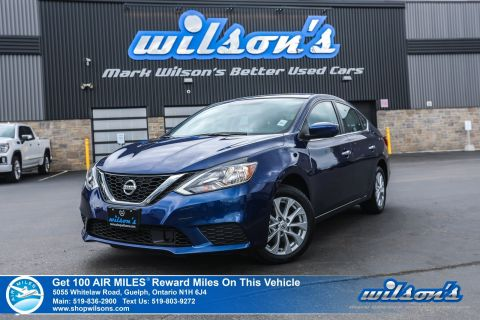 "Certified Pre-Owned 2019 Nissan Sentra SV Used - Sunroof, Rear Camera, Bluetooth, NissanConnect, 7"" Touchscreen and more!"