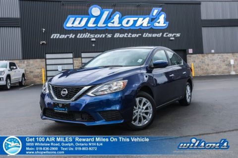 "Certified Pre-Owned 2019 Nissan Sentra SV Used - Sunroof, Rear Camera,  Bluetooth, NissanConnect, 7"" Touchscreen and more! FWD 4dr Car"