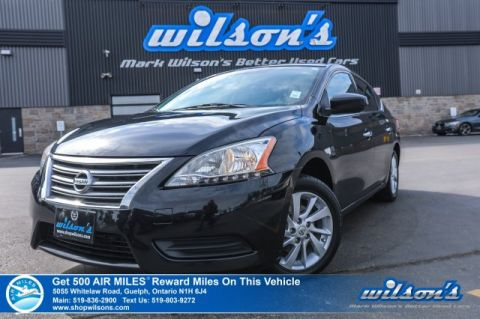 Certified Pre-Owned 2014 Nissan Sentra SV - Navigation, Sunroof, Heated Seats, Reverse Camera, Intelligent Key, Bluetooth, Alloys & More!