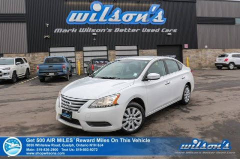 Certified Pre-Owned 2014 Nissan Sentra S - Bluetooth, Steering Radio Controls, Power Package, Cruise Control, New Tires & More!