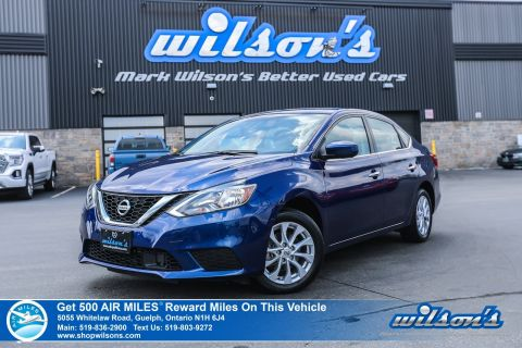 Certified Pre-Owned 2019 Nissan Sentra SV Used - Sunroof, Rear Camera, Collision Warning, Bluetooth, Heated Seats, Alloys and more!