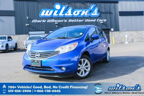 Certified Pre-Owned 2015 Nissan Versa Note SL Hatchback, Navigation, Rear Camera, Bluetooth, Heated Seats, Alloys and more!