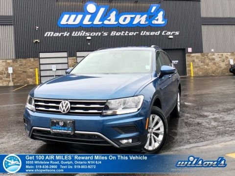 Certified Pre-Owned 2018 Volkswagen Tiguan Trendline AWD - Android Auto & Apple CarPlay, Heated Seats, Rear Camera, Alloy Wheels and more!