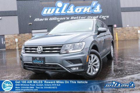 Certified Pre-Owned 2018 Volkswagen Tiguan Trendline AWD - Rear Camera, Bluetooth, Andorid/Apple Carplay, Alloys, Power Package and more!