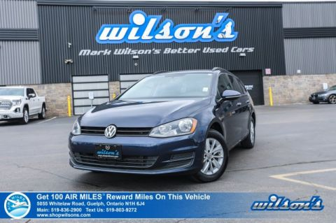 Certified Pre-Owned 2015 Volkswagen Golf Sportwagen Trendline - Rear Camera, Bluetooth, Heated Seats, Alloys, Cruise Control & More!