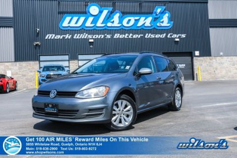 Certified Pre-Owned 2016 Volkswagen Golf Sportwagen Trendline - Rear Camera, Heated Seats, Cruise Control, Multifunction wheel, & Much More!