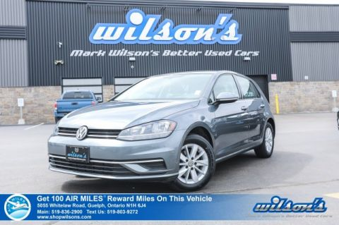Certified Pre-Owned 2018 Volkswagen Golf Trendline Hatchback - NEW TIRES! Heated Seats, Bluetooth, Rear Camera, Alloy Wheels and more!