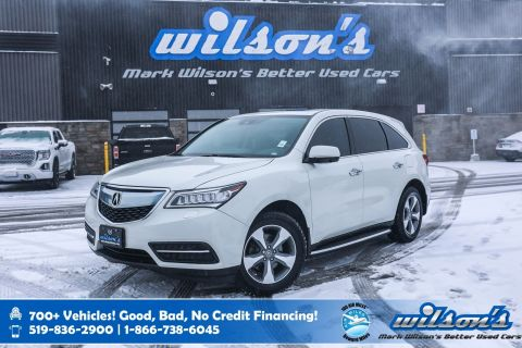 Certified Pre-Owned 2016 Acura MDX AWD, Leather, Sunroof, Heated Seats, New Tires, Bluetooth, Running Boards, Alloy Wheels and more!