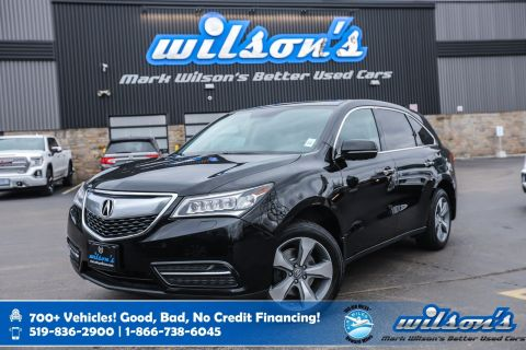 Certified Pre-Owned 2014 Acura MDX AWD, Leather, Sunroof, Heated Steering, Memory Seats, Bluetooth and more!