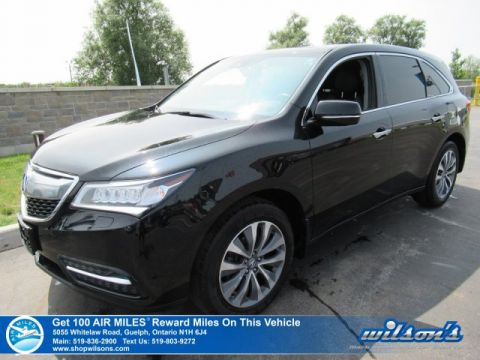 Certified Pre-Owned 2016 Acura MDX AWD Nav Pkg - NEW TIRES! Leather, Navigation, Sunroof, Heated Seats, Bluetooth, Alloys and more!