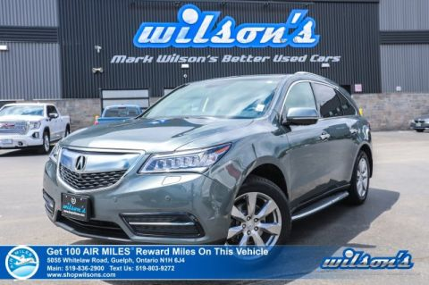 Certified Pre-Owned 2015 Acura MDX Elite AWD Leather, Navigation, DVD, Sunroof, Running Boards, Heated Seats, Rear Camera, Bluetooth