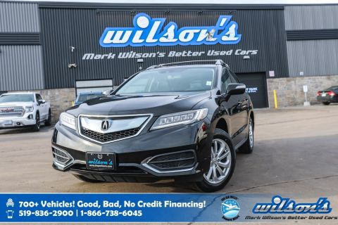 Certified Pre-Owned 2016 Acura RDX AWD, Leather, Sunroof, Heated Seats, New Tires, Bluetooth, Rear Camera, Alloy Wheels and more!