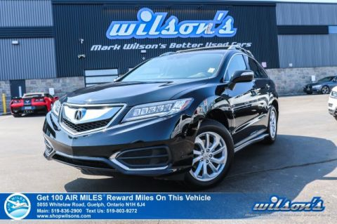 Certified Pre-Owned 2016 Acura RDX Tech AWD - Leather, Navigation, Sunroof, Power + Memory Seat, Heated Seats, Rear Camera, Bluetooth