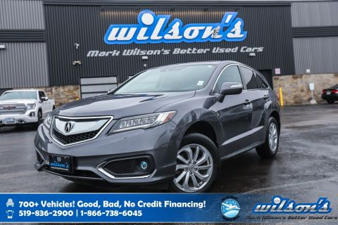 Certified Pre-Owned 2017 Acura RDX Tech Pkg, Navigation, Leather, Sunroof, Front + Rear Heated Seats, Bluetooth, Rear Camera and more!