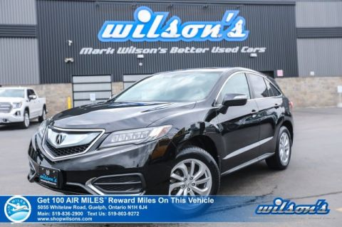 Certified Pre-Owned 2016 Acura RDX Tech AWD - Leather, Navigation, Sunroof, Power + Memory Seat, Heated Seats, Rear Camera and more!