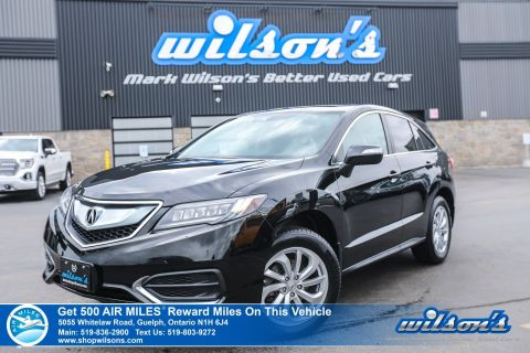 Certified Pre-Owned 2016 Acura RDX Tech AWD - Leather, Navigation, Sunroof, Memory Seat, Heated Seats, Rear Camera and more!