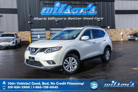 Certified Pre-Owned 2015 Nissan Rogue SV AWD, Sunroof, Power Seat, Heated Seats, New Tires, Bluetooth, Rear Camera, Alloy Wheels and more!