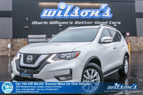 Certified Pre-Owned 2018 Nissan Rogue SV AWD - Sunroof, Rear Camera, Bluetooth, Cross Traffic Alert, Heated Seats & More!