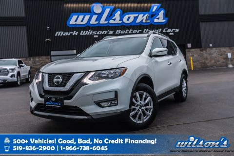 Certified Pre-Owned 2019 Nissan Rogue SV AWD Used, Panoramic Sunroof, Heated Seats, Bluetooth, Rear Camera, Alloy Wheels and more!