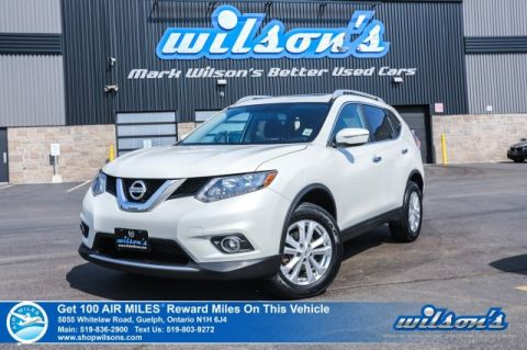 Certified Pre-Owned 2015 Nissan Rogue SV AWD - Sunroof, Rear Camera, Bluetooth, Cruise Control, Alloys & More!