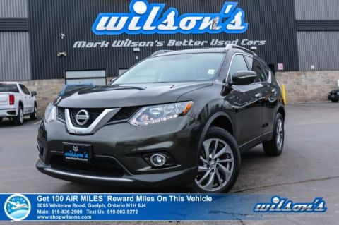 Certified Pre-Owned 2014 Nissan Rogue SL AWD - Leather, Sunroof, Intelligent Key, Bluetooth, Rear Camera, Alloys & More